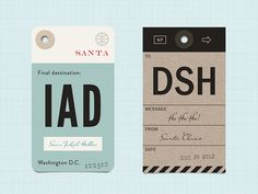 might be a strange idea, but i really like luggage tags and wish i had use for them. both are customizable: the first one has the nearest airport code and the second one replaces the airport code w...