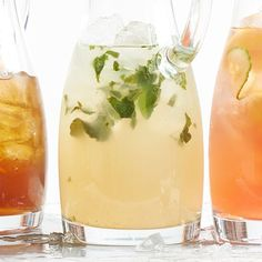 This adults-only lemonade is great for your Fourth of July barbecue. More of our favorite recipes from our June issue: http://www.bhg.com/recipes/from-better-homes-and-gardens/june-2014-recipes/?socsrc=bhgpin062214basillemondrop&page=4