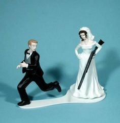 61 Best Hilarious Wedding Cakes Images On Pinterest Wedding Topper