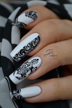 Kakine Nail Art: Nail Art Maori