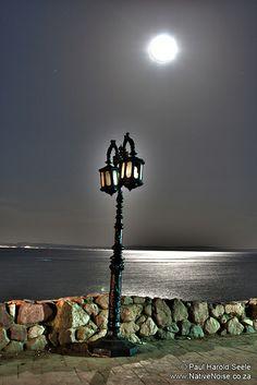 The boulevard Dahab by moonlight. Dahab, South Sinai Egypt. www.dahabvillas.com