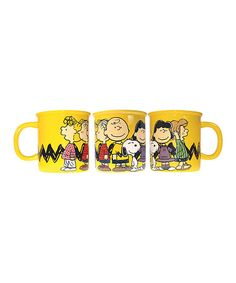Look what I found on #zulily! Peanuts Gang 52-Oz. Monster Mug by Peanuts by Charles Schulz #zulilyfinds