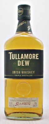 Tullamore Dew Irish Whiskey 40% 70cl. The Tullamore Distillery was founded in1829 by Michael Molloy, located in Tullamore, County Offaly Ireland.    Whilst triple distillation guarantees the ultimate smoothness, ageing this unique blend for many years in Oloroso Sherry and old Bourbon oak casks brings out a character and flavour that contiues to win awards year after year.