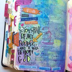 Jeremiah 30:22 Bible Journaling Valerie Wieners