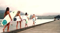 A day in the life of a Kauai Surfer Girl: Four best friends share their story of growing up together on Kauai and dreams of traveling the world.  // Surfer Girls: Sunny, Tiana, Madison & Delilah // Film & Edit: Keith Ketchum Photography// Music: Animal by Antique Firearms