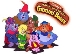 Gummi Bears. I have memories of watching the Disney Club on a Sunday morning looking at this!