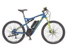 REX E-Bike hliník Full Suspension MTB 650 B 1