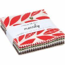 "Merrily Mini 2.5"" Charm Pack by Gingiber for Moda Fabrics"