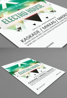 25 Beautiful Flyer Designs for your Inspiration