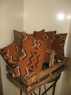 Pillow Mud Cloth by AccentDecor on Etsy, $40.00