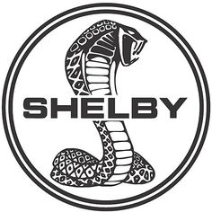 shelby mustang cobra logobrought to you by house of insurance in