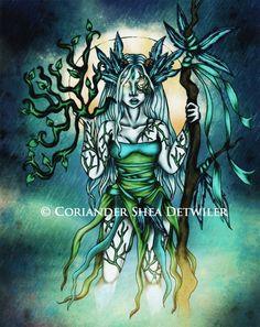 Faery Fantasy Art 2010 -    PHANTOM'S  ROSE: the Fantasy Faery WORLD  of  Coriander Shea