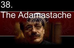 The Adamastache.  Admiral Adama big pimpin'.