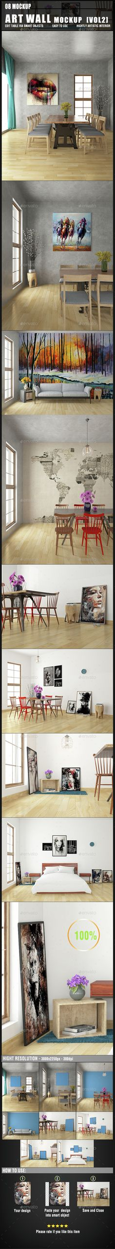 Art Wall Mockup. Download here: http://graphicriver.net/item/art-wall-mockup-vol2/15232914?ref=ksioks