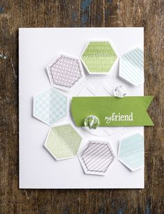 There are so many reasons to love the Six Sided Sampler stamp set and coordinating punch. This is just one of them.