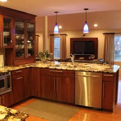 Kitchen Slab Front Cabinet Doors Design, Pictures, Remodel, Decor and Ideas - page 17