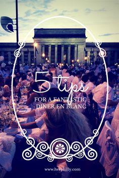 5 Tips for a Fantastic Diner en Blanc! via @herphilly