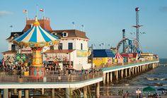Galveston's Pleasure Pier....