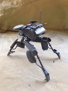 I built this mech out of an old car model and some spare parts. This is my first attempt ever and I already want to do more of these. It fe...