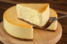 Slice of our Vegan Cheesecake- New York Style