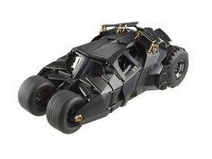 Batman Dark Knight Trilogy Hot Wheels Heritage Batmobile 1:18 Scale Vehicle @ niftywarehouse.com