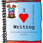 This is a 111 page unit that I have been working on since May.  It is lessons for the entire school year that covers Six Traits Writing in Writer's...
