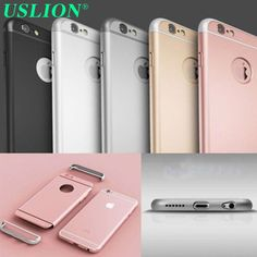 Luxury Ultra-thin Frosted Shockproof Armor Mobile Hard Phone Case Cover for Apple iPhone 6 6S Plus Cover case back bags