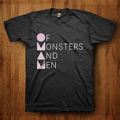 New-Of-Monsters-And-Men-My-Head-is-An-Animal-World-Tour-2012-T-Shirt