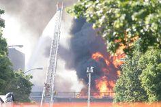 La Sûreté du Québec (SQ) a indiqué que l'accident est survenu peu avant 16 h.  09-08-16 - Montréal