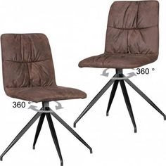 Wohnling WOHNLING 2er Set Design Esszimmerstühle HERRY im Retro Design Polsterstühle braun | Küchenstühle Vintage Bezug gepolstert mit Rückenlehne | Drehstühle Metallbeine Stühle Doppelpack Jetzt bestellen unter: https://moebel.ladendirekt.de/kueche-und-esszimmer/stuehle-und-hocker/esszimmerstuehle/?uid=5ded3cee-6f37-559e-95d0-c58e5424bc49&utm_source=pinterest&utm_medium=pin&utm_campaign=boards #kueche #esszimmerstuehle #esszimmer #eckbänke #hocker #stuehle