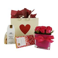 Raspberry Rose - Auckland Delivery Only Men And Babies, Best Gift Baskets, Melting Moments, Beautiful Gifts, Auckland, Valentine Day Gifts, Baby Gifts, Raspberry, Gifts For Her