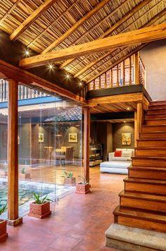 Techo de carrizo (bambú) casa