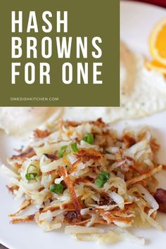 The best buttery, crisp hash browns made from 1 potato! This small batch hash browns recipe is so easy to make. Shredded potatoes cooked in butter, lightly seasoned, crispy, and absolutely delicious! The perfect amount for one person. Shredded Potatoes, White Potatoes, Wonderful Recipe, Sweet Potato Recipes, Crisp, Tasty, Cooking, Ethnic Recipes, Food