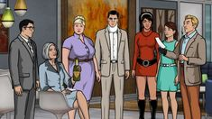 FX has announced 'Archer' has been renewed for three more seasons. Featuring the voices of H Jon Benjamin, Aisha Tyler, Jessica Walter, and Judy Greer. Walking Dead Season, The Walking Dead, Cannabis, Aisha Tyler, Running Jokes, Current Tv, Danger Zone, San Diego Comic Con, Season 8