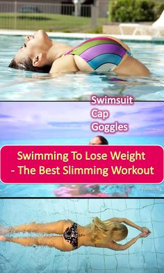 how to lose weight swimming diet