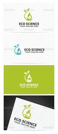 Eco Science Logo - Nature Logo Templates
