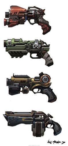 Amazing pistols design