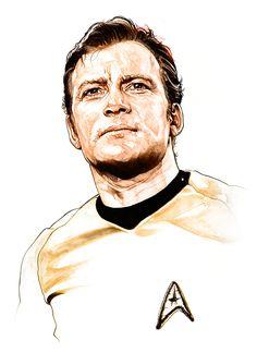 Kirk by Corbyn S. Kern #startrek #tos #fanart