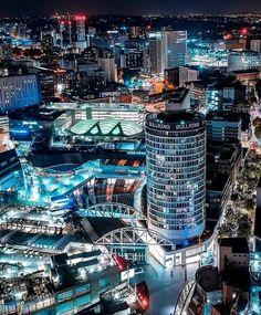 A beautiful photo of Birmingham Warwickshire England. Birmingham City University, Birmingham City Centre, Birmingham Canal, Birmingham England, England And Scotland, City Aesthetic, West Midlands, City Photography, Australia Travel