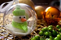 Palle di natale decorate, con tutorial