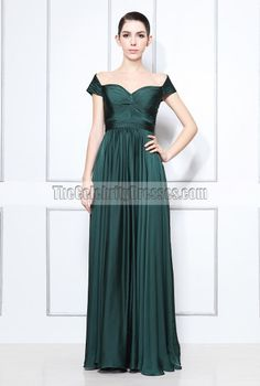 Audrey: Sofia Vergara Green Evening Dress Oscar Awards 2008 After Party - TheCelebrityDresses