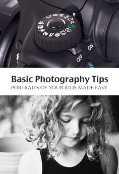 Portraits of Kids: Beginner DSLR Photography *These photo tips are so simple. Seeing this photo in color, wow... what a difference.