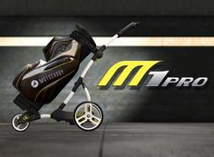 A still taken from the new animation created for Motocaddy's M1 Pro golf trolley. See the full animation on FDG's website.