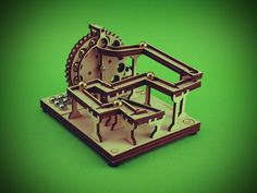 Marble Machine Kit - Manual Mainboard no.1 Marble Runs, Marble Machine, Storage Cubes, Bookends, Manual, Woodworking, Sculpture, Website, Projects