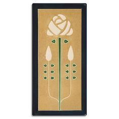 4x8 Long Stem - Jade from Motawi Tileworks