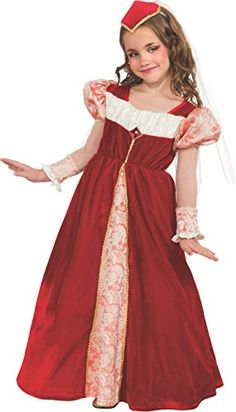 Rubies Red Jewel Princess DressUp Costume Large * You can find more details by visiting the image link.