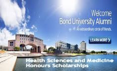 Health Sciences and Medicine Honours Scholarships for International Students in Australia, and applications are submitted till Friday in November each year. Bond University offers Health Sciences and Medicine Honours Scholarships for international students to pursue undergraduate degree. - See more at: http://www.scholarshipsbar.com/health-sciences-and-medicine-honours-scholarships.html#sthash.6G3SIy9U.dpuf