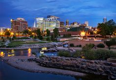 Confluence Park - Denver, CO- Starting our morning out meeting friends at ink and a long walk around the park!