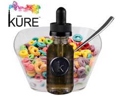 TOUCAN TANGO...get your day started with some Froot Loop-flavored KURE Juice on Tap! #eJuice #vapeon