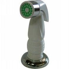 Elements of Design EBS1571SP Essentials Plastic Kitchen Side Spray With Hose Polished Chrome-eFaucets.com